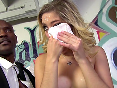 Lia Lor gets a facial and takes a shower in behind the scenes clip