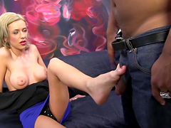 Pretty Kaylee Hilton Shares A Foot Fetish A Black Man
