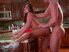 Charmane Star with hot ass banging on monster cock