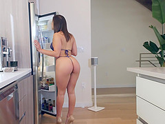 Brunette cutie Abella Danger rides a dick like there is no tomorrow