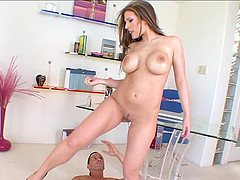 Awesome perfect brunette mature dreams about coupling