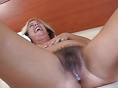 Busty MILF Rides Black Cocks and Gets Creampied in an Interracial Gangbang