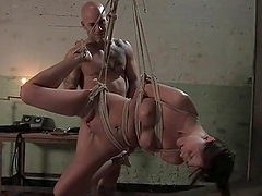 Alicia Stone gets her coochie ripped apart by Derrick Pierce