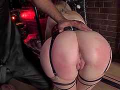Holly Golightly gets her ass ripped apart in amazing BDSM clip