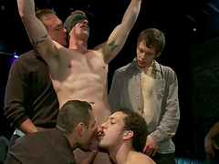 Mike Martin, Kieron Ryan And Dirty Friends Go Wild In A Crazy Party