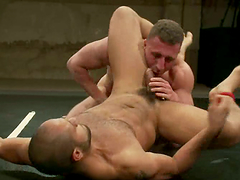 Wicked strong homos will enjoy each other hard