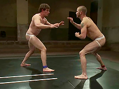 Brenn Wyson and Jeremy Tyler fight on tatami and make gay love