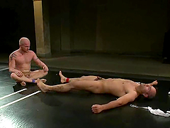 Charming Luke Riley And Leo Forte Fuck Each Other After Wrestling