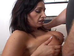 Vannah Sterling the lustful MILF enjoys rough pussy pounding