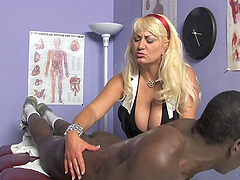 Scrumptious Dana Haye Has Interracial Sex With A Black Boy