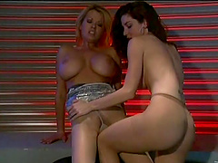 Pretty Kayla Paige And Carolyn Monroe Have Lesbian Sex