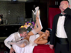 Charming Romi Rain Gets Fucked By Danny D In Front Of Her Recent Husband