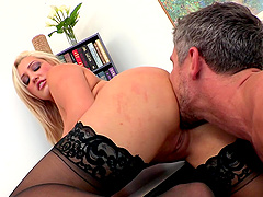 Reality sex video with bosomy tattooed blonde Dayna Vendetta