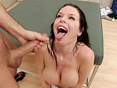 A wild gangbang for the slutty reporter Veronica Avluv