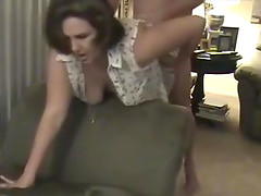 Busty amateur milf gets amazingly fucked from behind