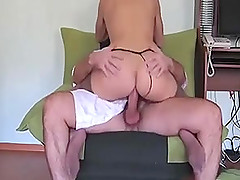 Amateur couple fuck in cowgirl pose and have anal sex