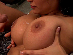 Sophia Lomeli with large boobs getting nailed hardcore