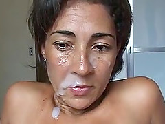 Brazilian MILF walking on the beach and then get fucked