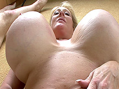 Kayla owns a humongous pair of boobs and is glad to give a titjob
