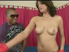 Black monster rod for insatiable beauty Makali Chanel