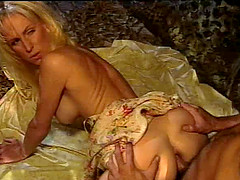 Long hair Brittany Andrews anal penetrated doggystyle