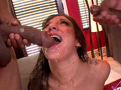 Alluring Amy Brooke loving her anal screwed hardcore