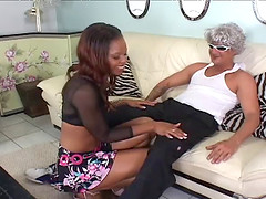 Marie Luv is a black chick in need of a kinky shag