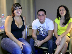 Magnificent FFM action with a couple Jose y Ana and Dafne Alex