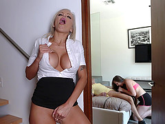 Lexi Lovell wants to share a massive cock with Nina Elle