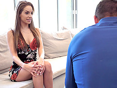 Nanny Kimmy Granger is not wearing panties today with a goal