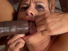 Katja Kassin has a boyfriend, but shes still going to the dungeon to get her face fucked