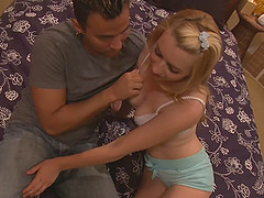 Lexi Belle loves his long shaft more than anything else