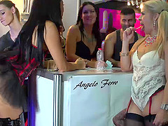 Spanish Lesbian Eurobabes Finger In Public