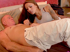 Teen Gia Jakarta hammered by old dick