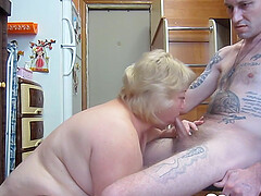 After she gave me juicy blowjob she wanted to have some doggy style sex