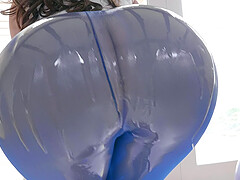 Lana Rhoades bounces her perfect bubble butt on cock for a cumshot