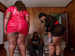 Sensual lady Black Pashion Xxx takes a fat black shaft in her living room