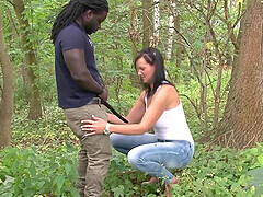 german amateur teen outdoor fuck with bbc