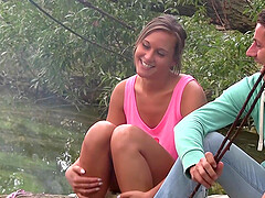 threesome with horny dudes is memorable experience for Naomi Bennet