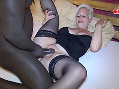 german big boobs milf fuck at home with long cock