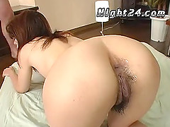 Japanese gangbang and piss drinking