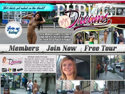 Public porn site